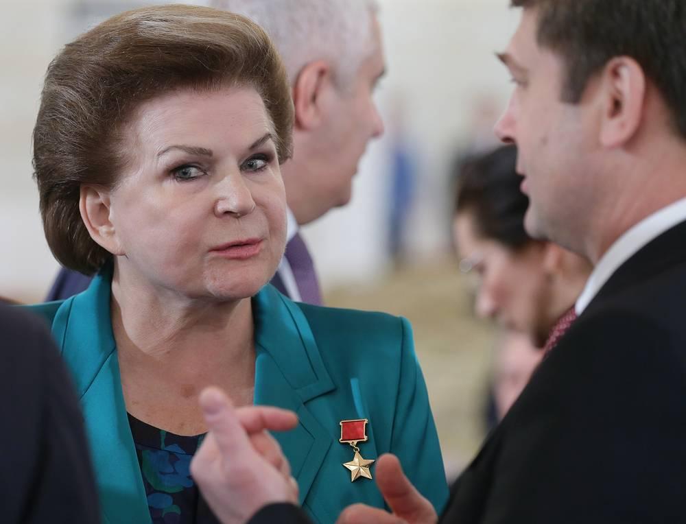Заместитель председателя комитета ГД РФ по международным делам Валентина Терешкова