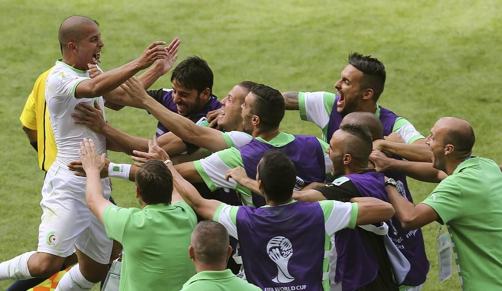 Алжирская команда открыла счет в матче