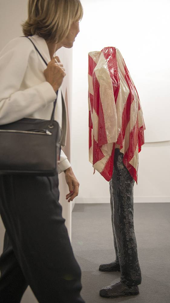 """Арт-объект """"Без названия"""" (1980) японского художника Нобуаки Кодзима, галерея Fergus McCaffrey (Нью-Йорк)"""