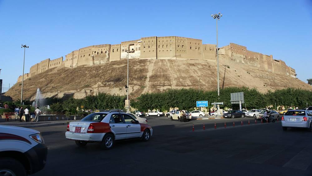Первый из них - цитадель города Эрбиль в иракском Курдистане