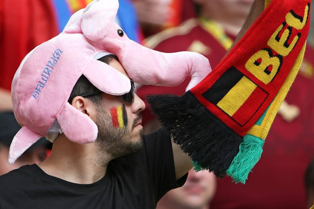 А у бельгийцев слоны