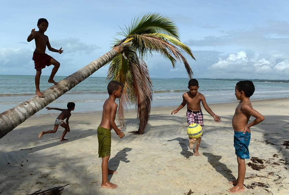 Футбол - национальный вид спорта в Бразилии. Более 70% жителей страны так или иначе увлекаются разными видами футбола