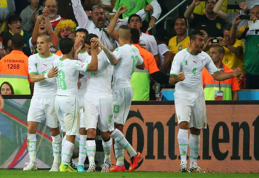 Сборная Алжира заняла второе место в группе и в 1/8 финала сыграет с командой США