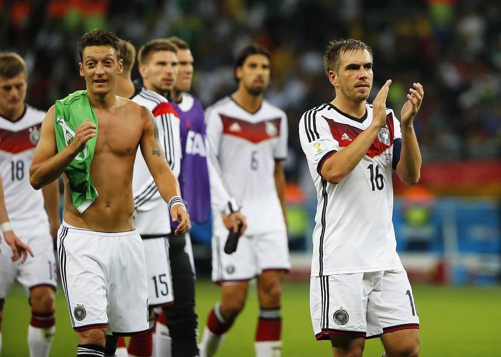 В 1/4 финала чемпионата мира немецкая команда встретиться со сборной Франции