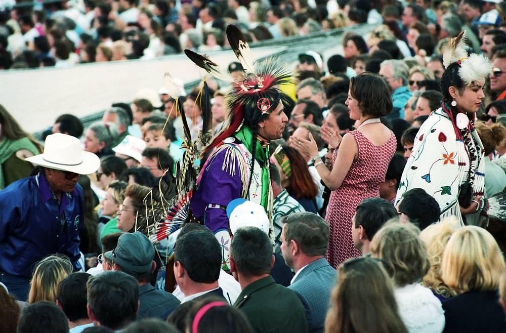 Во время торжественной церемонии открытия Игр доброй воли