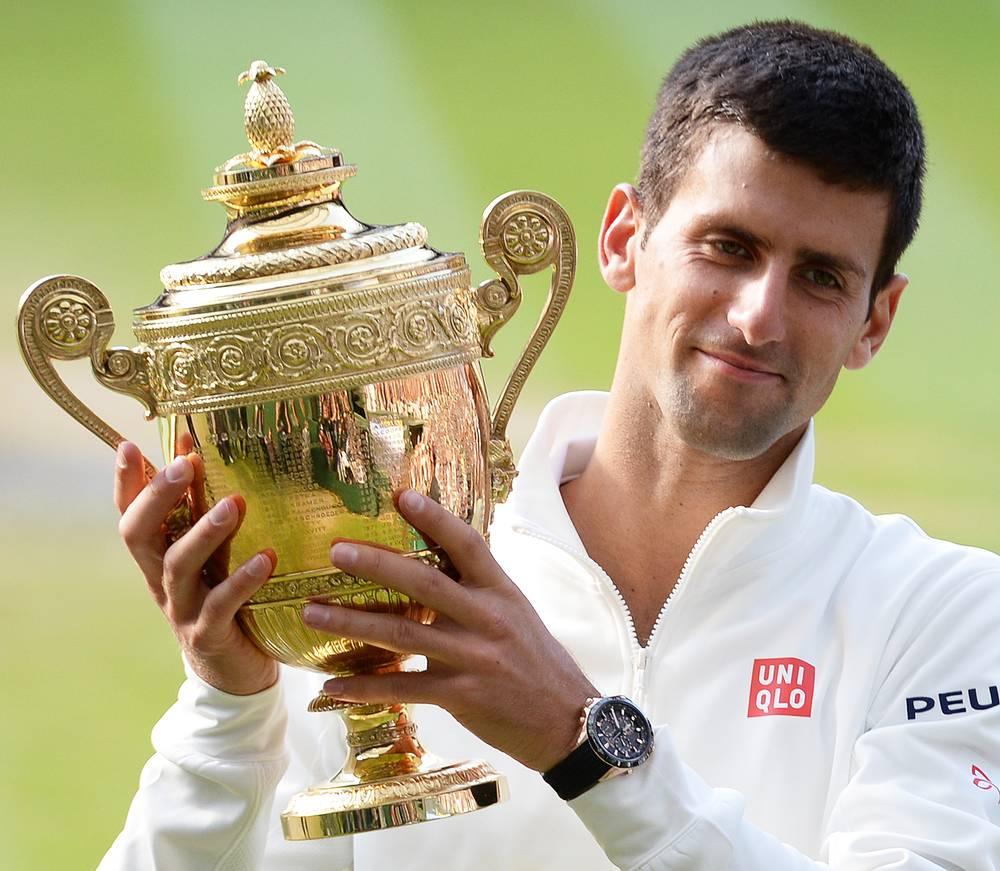 Джокович является четырехкратным победителем Открытого чемпионата Австралии (2008, 2011-2013), победителем Открытого чемпионата США (2011), двукратным финалистом Открытого чемпионата Франции (2012, 2014)