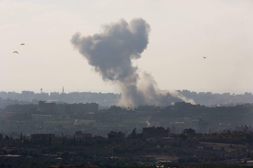 С начала операции  ВВС и ВМС Израиля поразили более тысячи целей в секторе Газа
