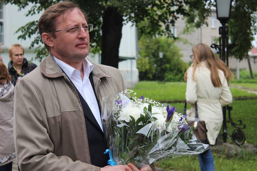 Министр культуры Свердловской области Павел Креков