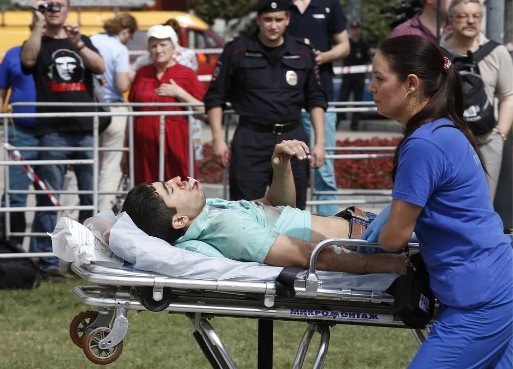 Группировку спасателей в ходе операции на месте аварии за несколько часов увеличили в пять раз