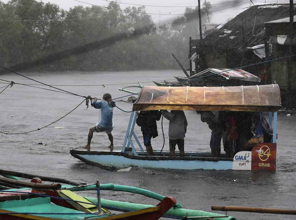 Из-за стихийного бедствия в четырех провинциях крупнейшего острова архипелага Лусон объявлено чрезвычайное положение