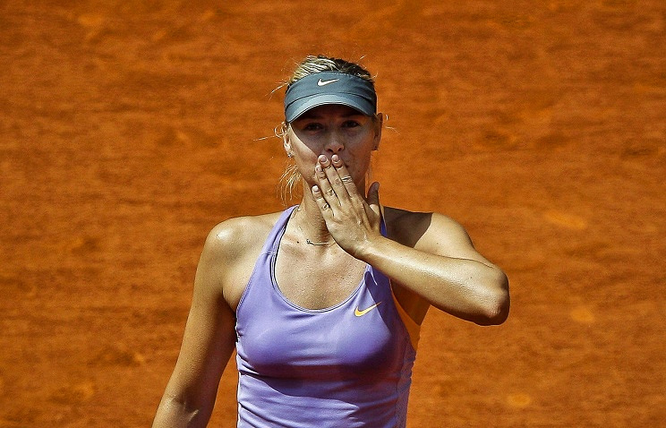 1. Мария Шарапова, теннис