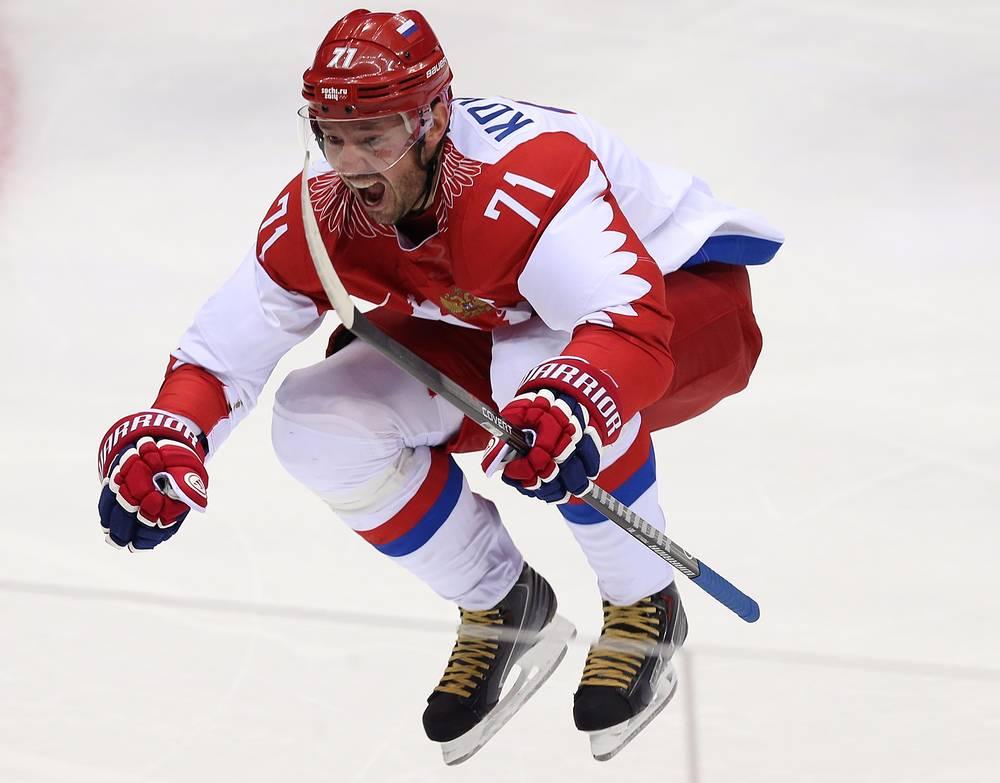 6. Илья Ковальчук, хоккей