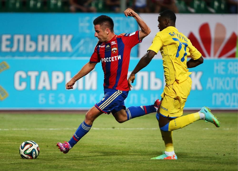 Зоран Тошич стал автором победного мяча