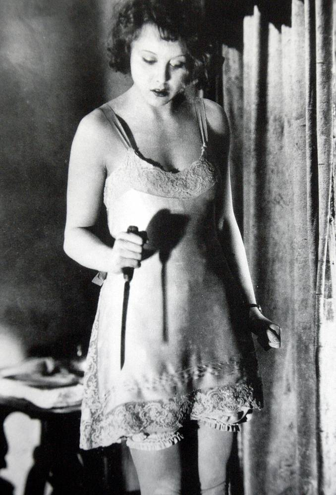"""""""Шантаж"""", 1929 год, 75 мин. Новаторский триллер был выущен как в немой, так и в звуковой версии"""