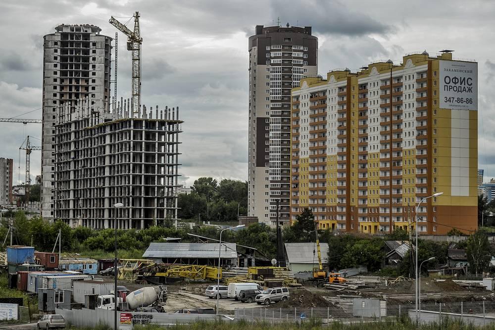 Долги строительных компаний Новосибирска за аренду земельных участков перед мэрией города достигли 1,5 млрд рублей