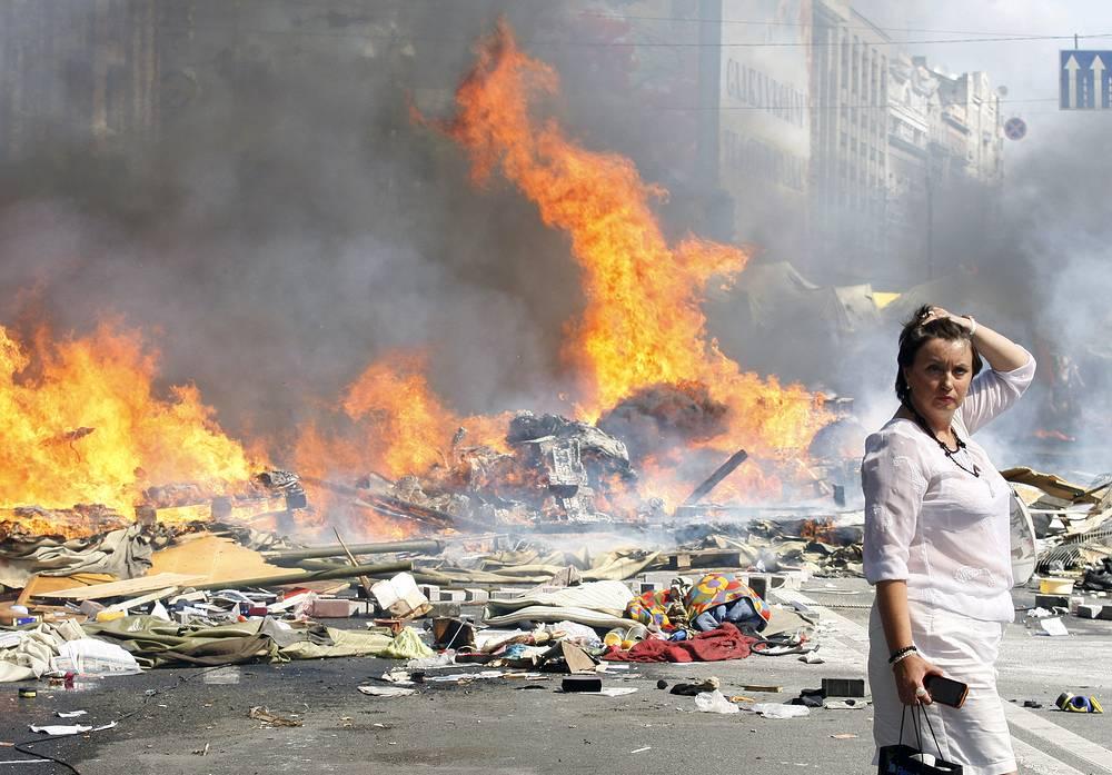 """Мэр Киева Виталий Кличко сообщил, что не отдавал распоряжения """"зачистить"""" площадь Независимости"""