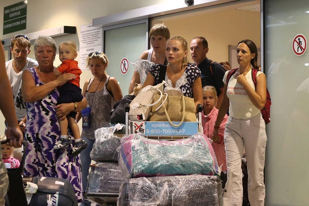 6 августа туристов, пострадавших в результате приостановки деятельности крупнейших туроператоров, начали возвращать в Россию. Последние рейсы для пострадавших туристов будут организованы 12 августа
