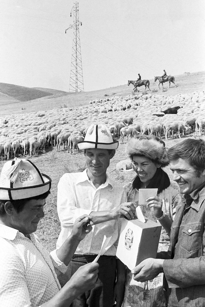 Выборы в местные Советы народных депутатов и народных судей в Киргизии, 1982 год