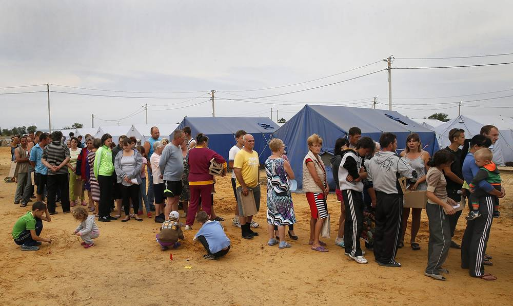 С начала конфликта на юго-востоке Украины в Россию, по данным ФМС на середину августа, прибыли более 730 тыс. человек