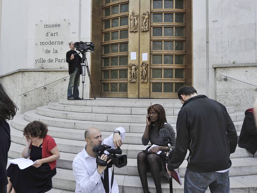Общая стоимость похищенных в 2010 году из парижского Национального музея современного искусства картин оценивается в $500 млн