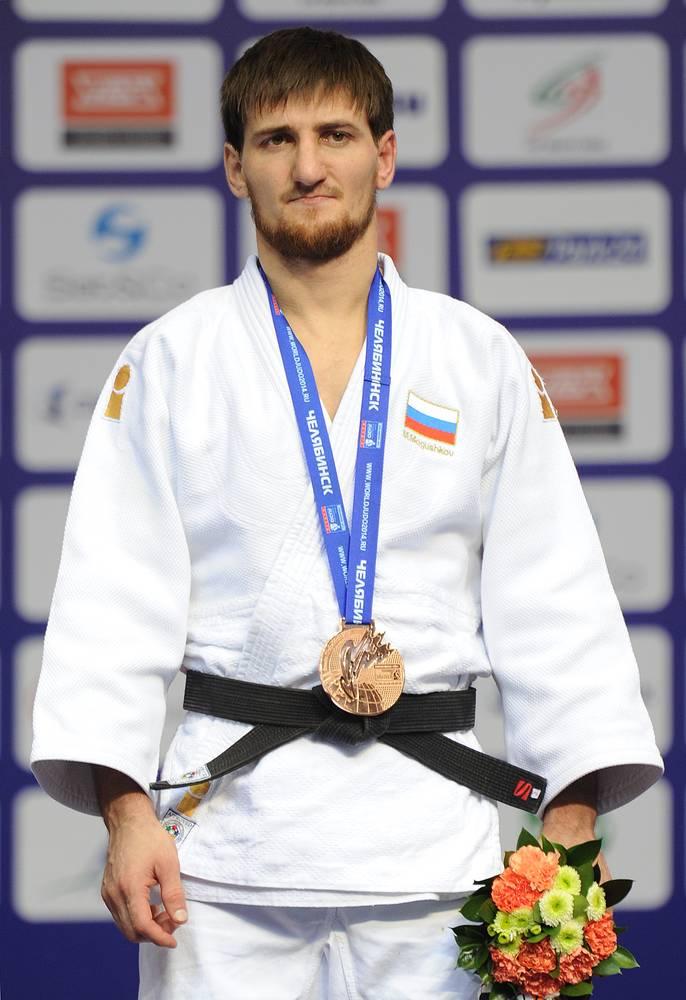 Муса Могушков на церемонии награждения