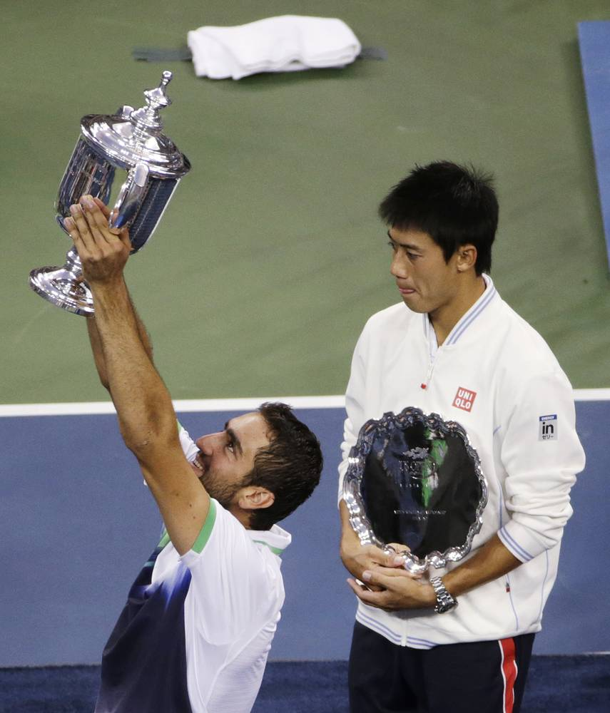 В новом рейтинге АТР оба финалиста US Open - 2014 войдут в топ-10 мирового рейтинга