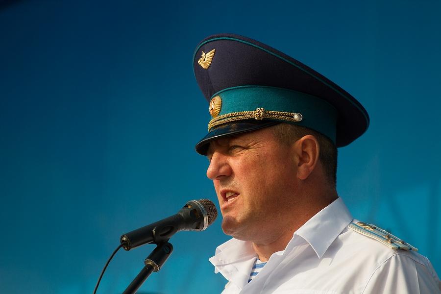 Командующий 76-й дивизией ВДВ Алексей Наумец
