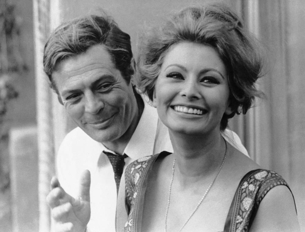 В этом фильме она снялась с Марчелло Мастроянни. Актеры составили один из самых знаменитых дуэтов в истории кино