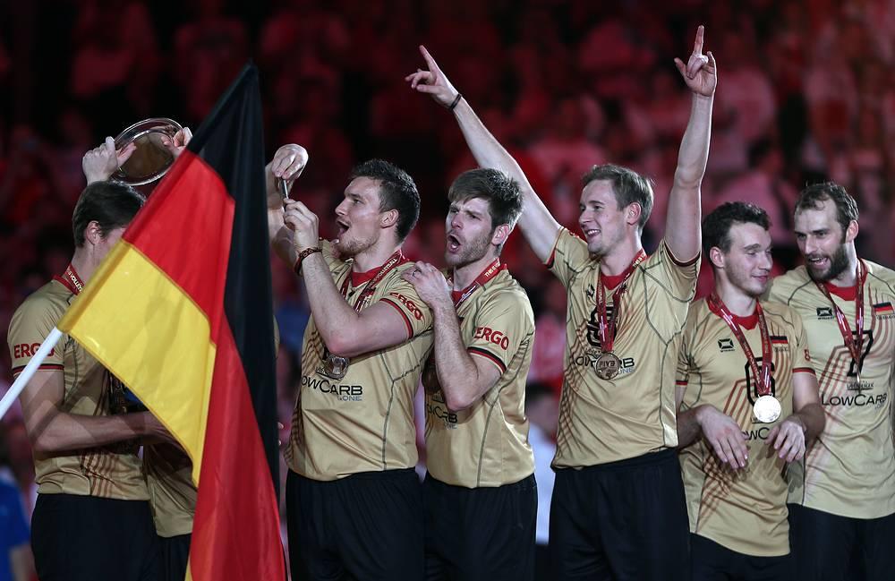 Бронзовые медали достались немцам