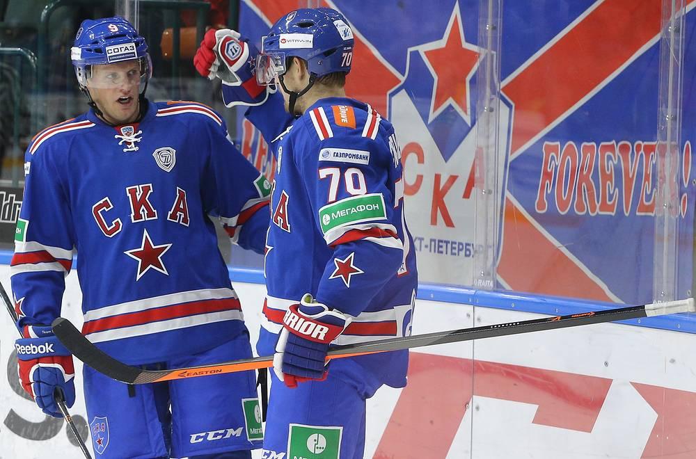 Тони Мортенссон (слева) и Роман Червенка