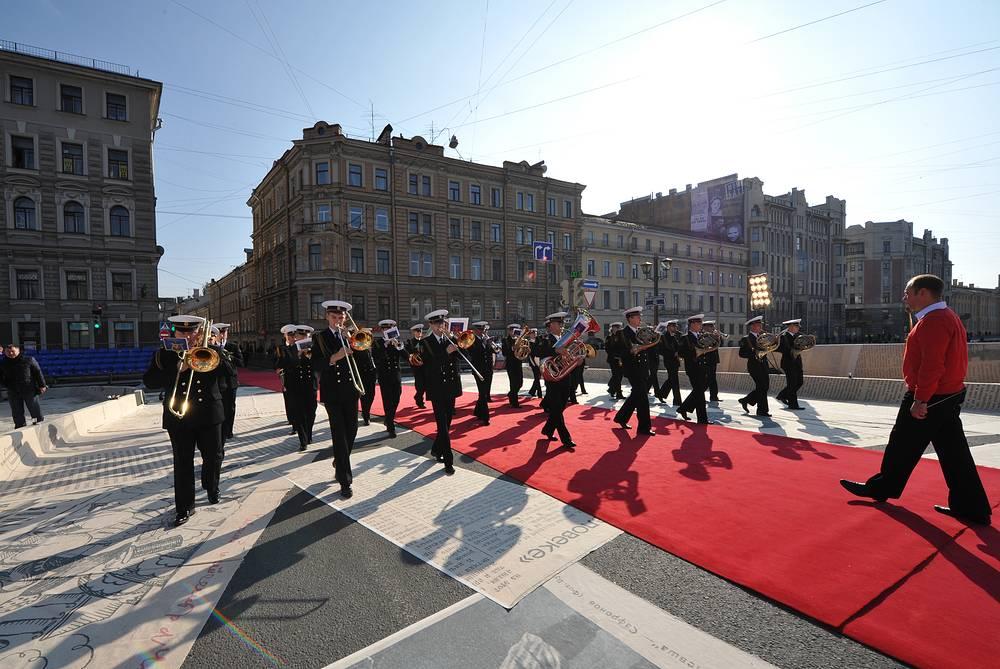 Открытие Большого драматического театра после реконструкции