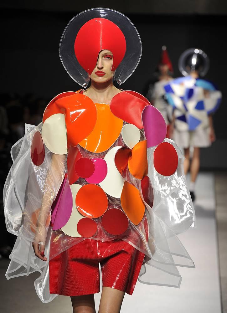 Коллекция японского дизайнера Юния Ватанабе (Junya Watanabe)