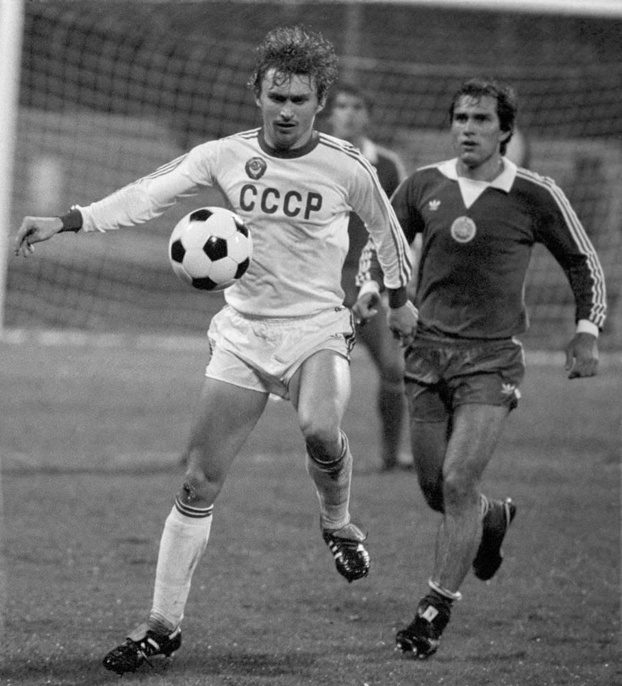 Отборочный матч олимпийского турнира СССР - Болгария. 1983 год