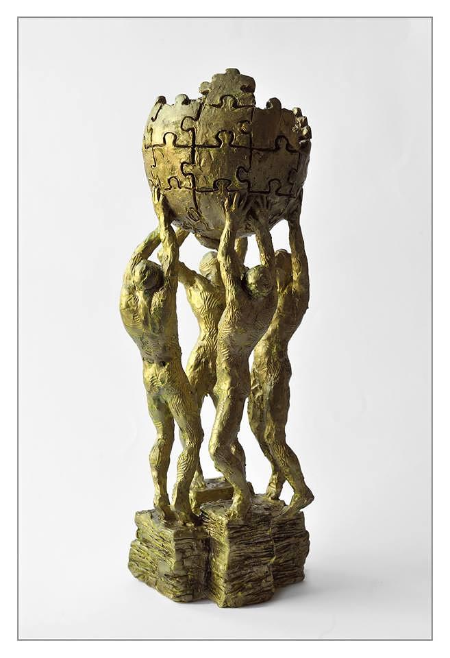 Макет памятника Википедии