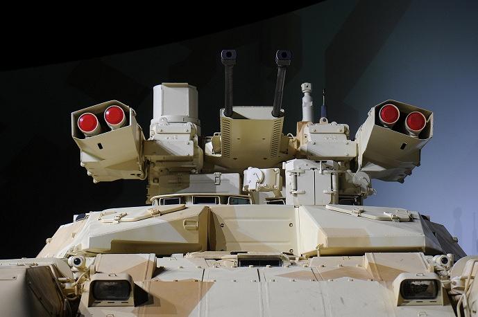 """Презентация БМПТ-72 """"Терминатор-2"""""""