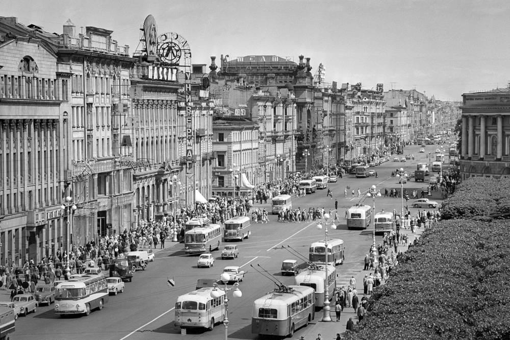 Невский проспект,1972 год