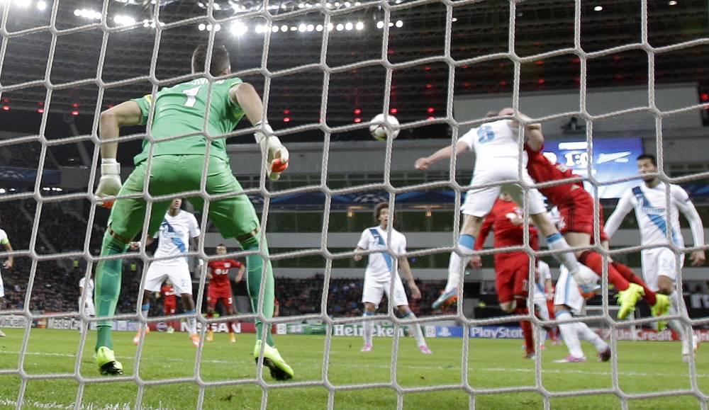 Опасный момент у ворот российского клуба