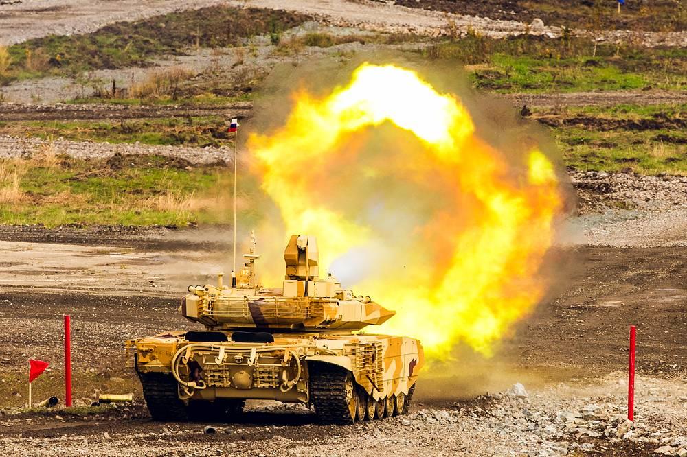 Танк Т-90С модернизированный