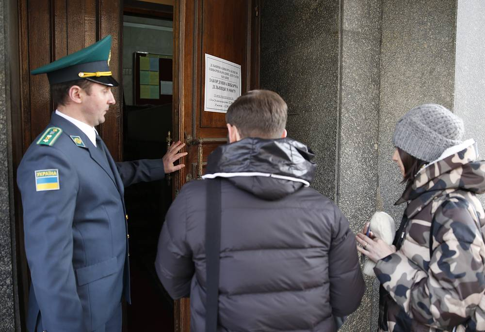 Голосование на выборах в Верховную раду Украины на избирательном участке в Москве прошло без нарушений