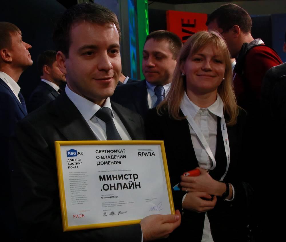 """Николай Никифоров на выставке """"Интернет-2014"""""""
