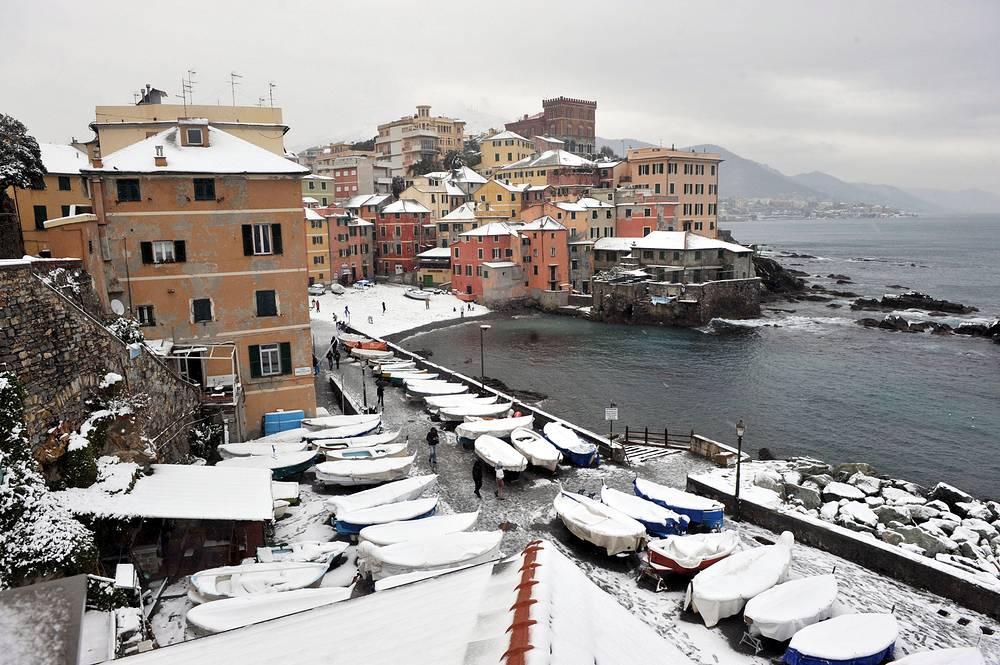 Генуя, январь 2009 года