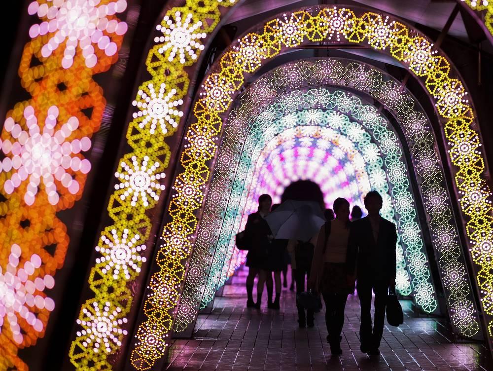Рождественская иллюминация в Токио, 6 ноября