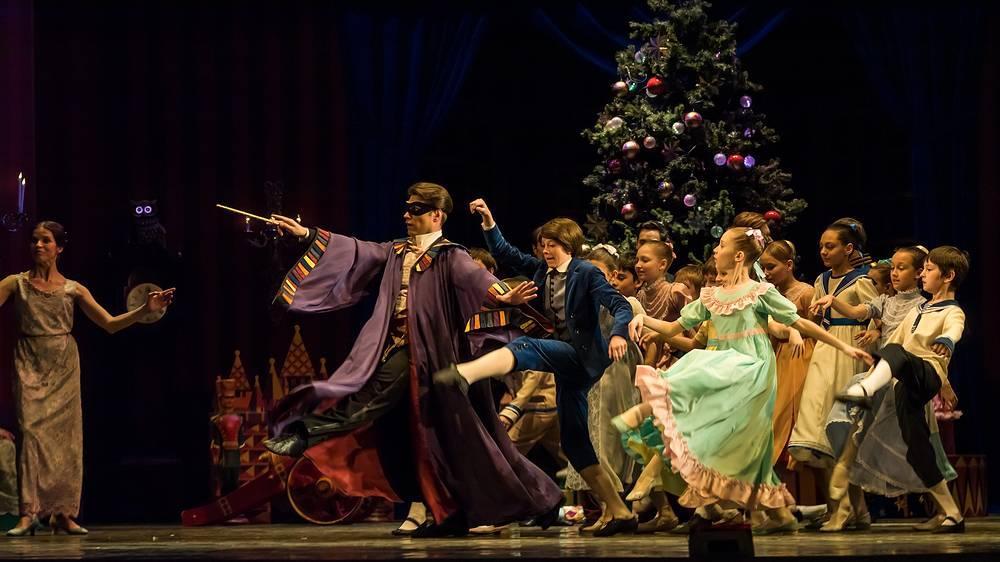 """Сцена из балета """"Щелкунчик"""""""