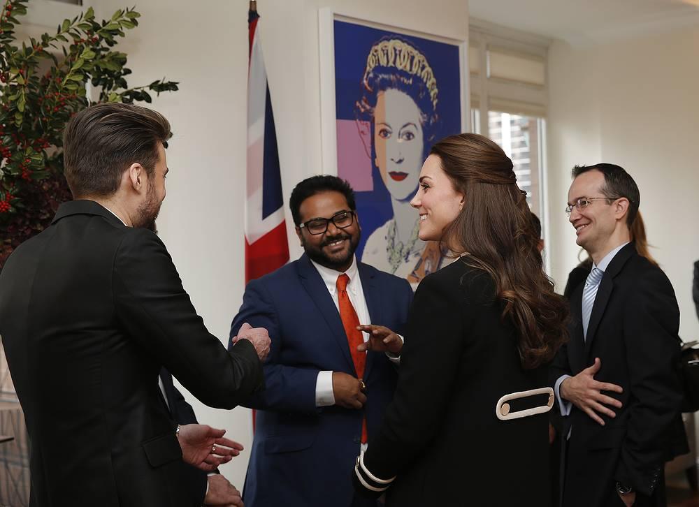 Встреча с представителями британской общины в резиденции британского генерального консула в Нью-Йорке, 8 декабря 2014 года