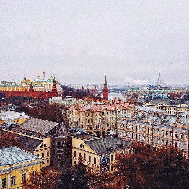 """""""Вот такой прекрасный вид открывается с высшей точки Пушкинского музея"""", - поделился впечатлениями один из участников акции #emptytheartmuseum"""
