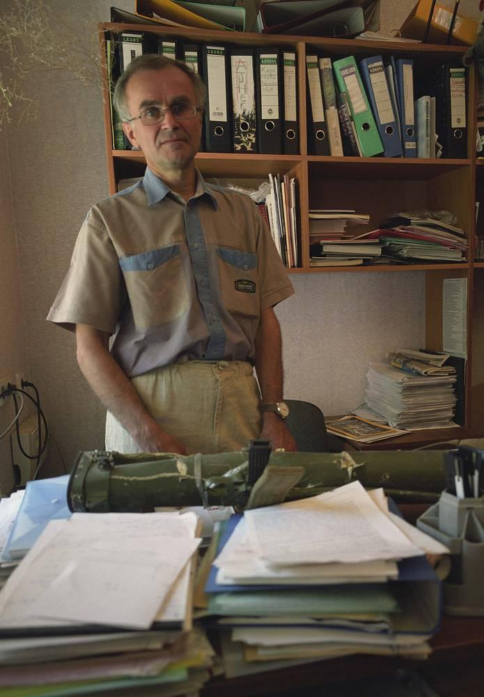 Андрей Миронов, убитый вместе с итальянским журналистом Андреа Рочелли