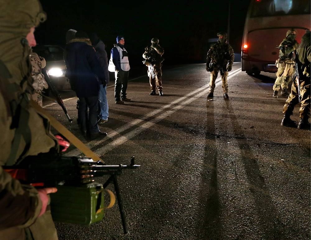 Обмен пленными между ополченцами и силовиками, 26 декабря