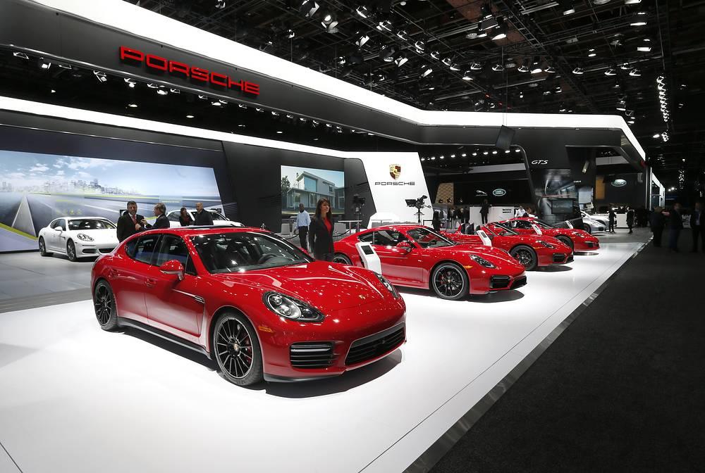 Стенд Porsche