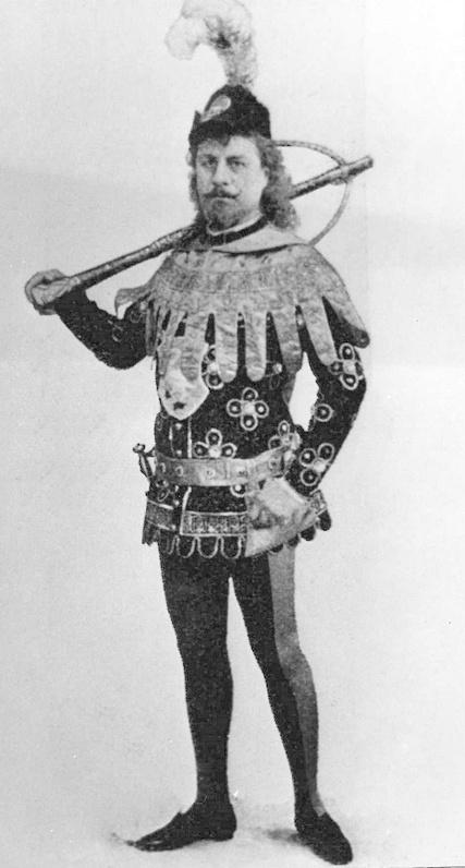 Павел Гердт (принц Зигфрид), 1895 год