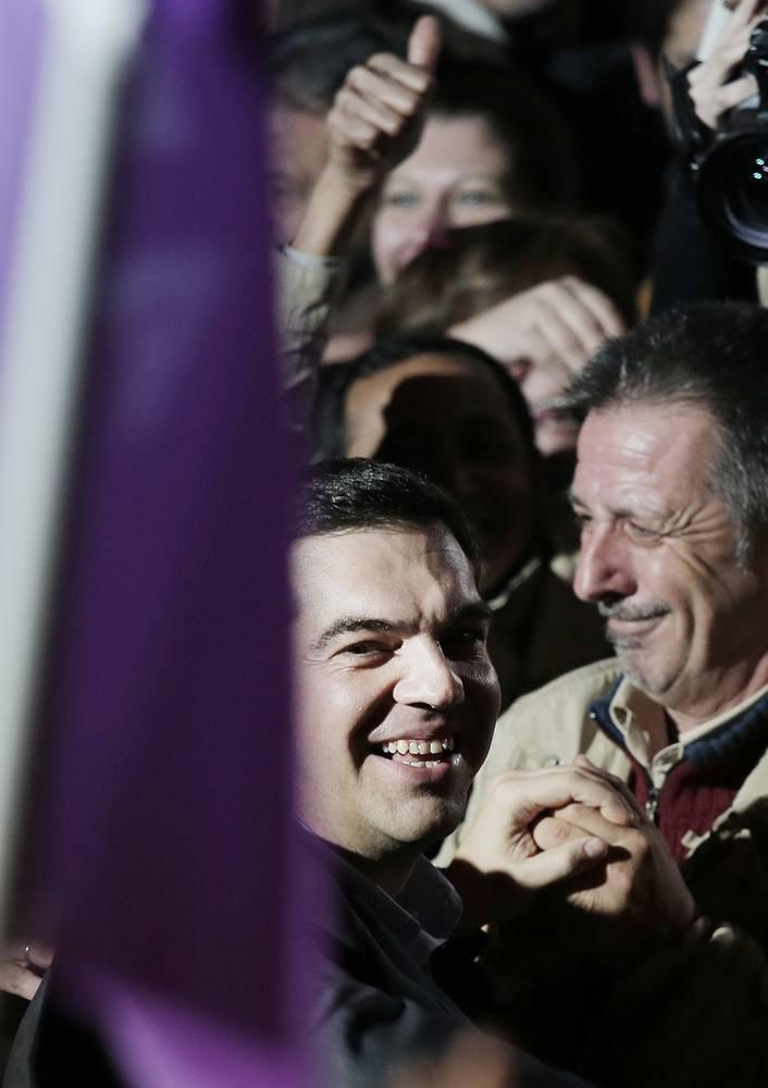 """Лидер коалиции Ципрас ответил: """"Я ценю этот ваш жест. Это политическая культура"""""""